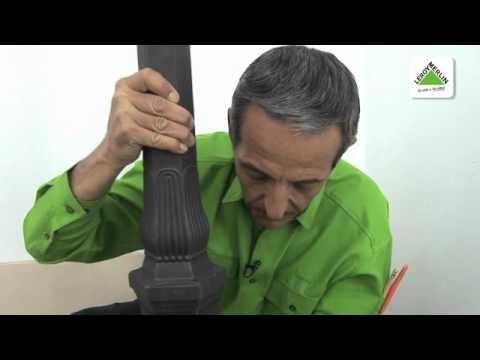 Colocar una farola en el jard n leroy merlin youtube for Percheros de pie leroy merlin
