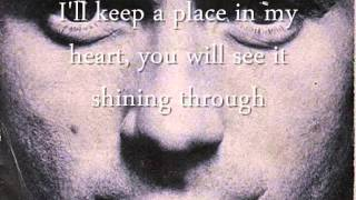 Phil Collins - Find A Way To My Heart LYRICS