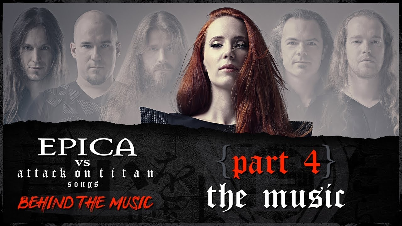 EPICA vs Attack On Titan songs: The Music (OFFICIAL INTERVIEW)