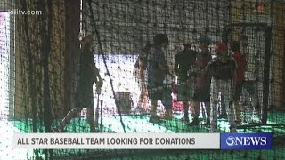 All star baseball team looking for donations in state tournament