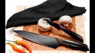 Кухонные ножи Edge Fiskars - kupitefal.ru(Кухонные ножи Edge Фискарс черная сталь купить http://kupitefal.ru/cash/vids/537_132.html. Большой ассортимент кухонных принадл..., 2013-10-10T12:09:12.000Z)