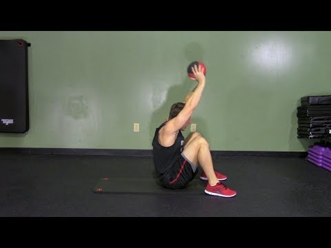 Medicine Ball Ab Workout - HASfit Medicine Ball Ab Exercises - Abdominal Workouts - Abs