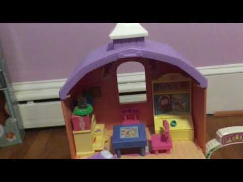 Fisher Price 2002 Loving Family Dollhouse Tour!
