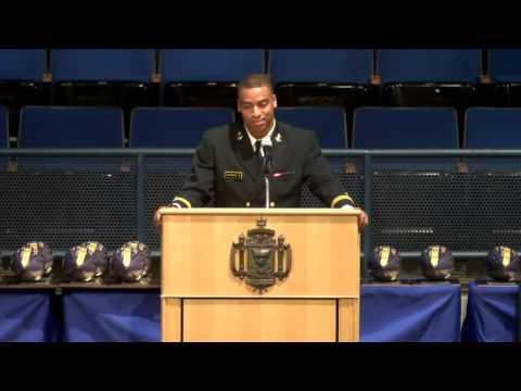 Navy Football Banquet - Reynolds Jersey Retirement and Team Captain Speeches