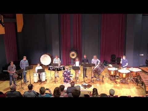 Preble Percussion Ensemble - El Muchacho Cinco