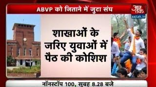 ABVP Opens Campaign Ahead Of DUSU Election
