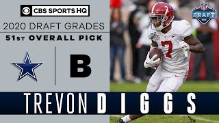The Cowboys get a TOP NOTCH player in Trevon Diggs with the 51st overall pick | 2020 NFL Draft
