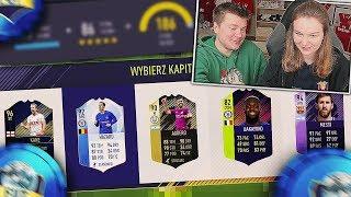 DZIEWCZYNA UKŁADA MEGA DRAFT! FIFA 18