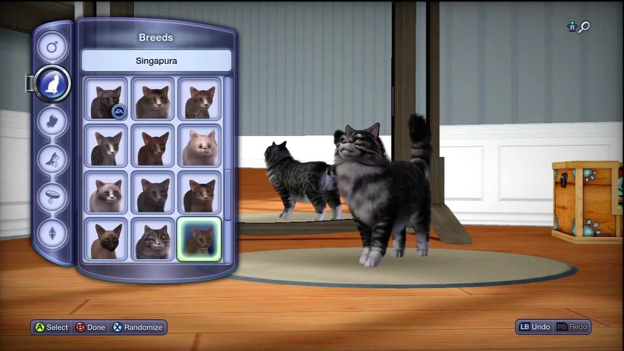 The Sims 3 Pets Xbox 360 In Depth Cat And Dog Breeds