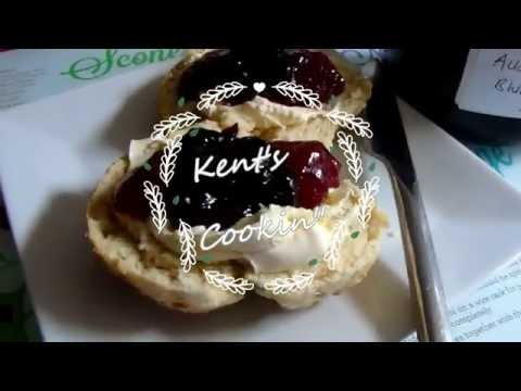 Kent's Cookin' Red White & Blue Scones for 4th July  collaboration