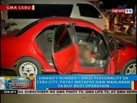 Umano'y number 1 drug personality sa Cebu City, patay matapos daw manlaban sa buy-bust operation