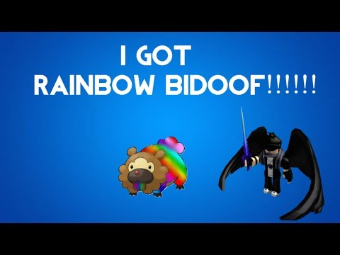 Pokemon Brick Bronze - I GOT RAINBOW BIDOOF!!!!! - YouTube