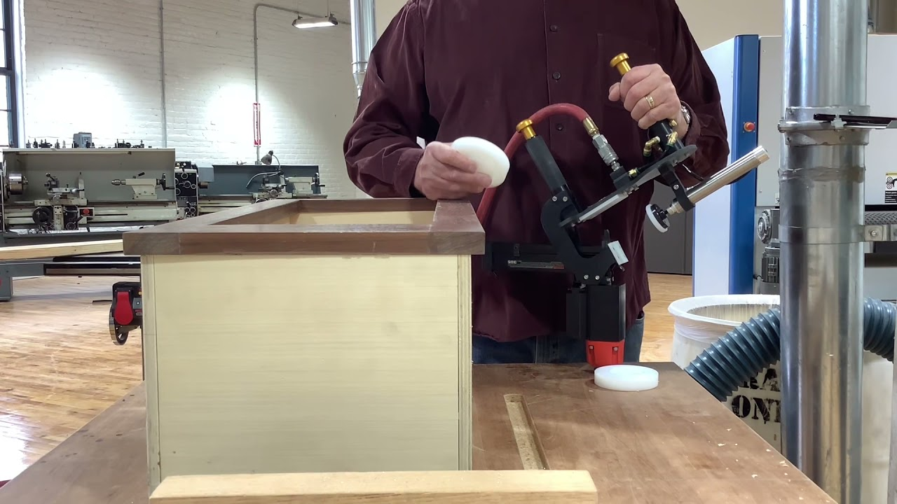 Blind Stapler™ - Face frame to cabinet box installation - DUAL ANGLE