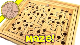 Labyrinth Metal Ball Maze Game Of Skill