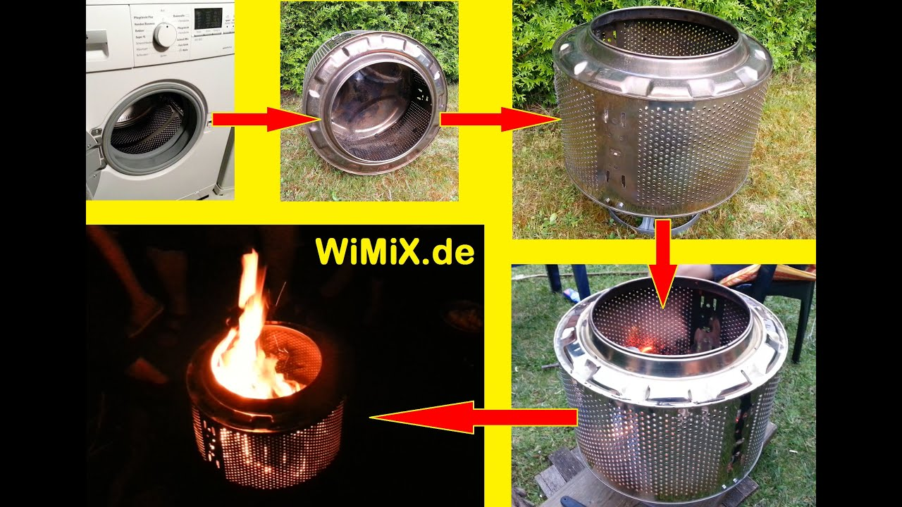 waschmaschine trommel feuer washing machine drum fire youtube. Black Bedroom Furniture Sets. Home Design Ideas