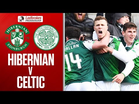 Hibernian 2-0 Celtic | Champions Celtic Suffer Third Loss of the Season | Ladbrokes Premiership