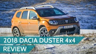 Dacia Duster 2018 4x4 dCi review + OFF-ROAD