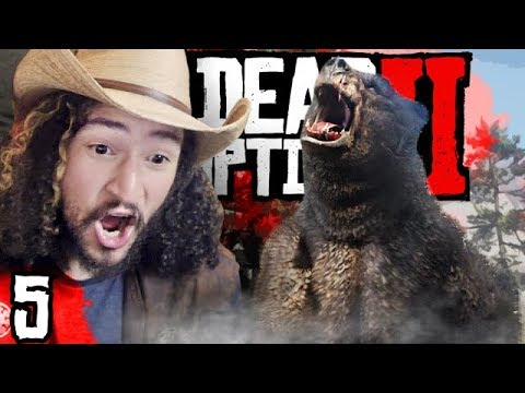 LEGENDARY BEAR ATTACK : Red Dead Redemption 2 Part 5