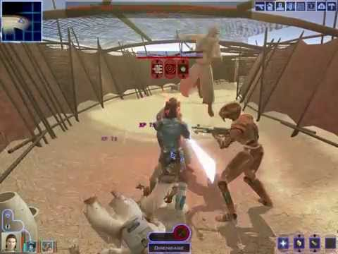 KOTOR - Ep.21 - Tatooine: Sandpeople Enclave