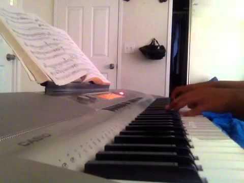 Amityville horror theme on piano