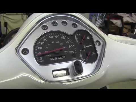 2013 Vespa 300 GTS Fuses Location - YouTube