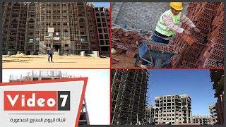 بالفيديو .. حصريا اليوم السابع يرصد اول عمارة تم تجهيزها بالعاصمة الادارية الجديدة