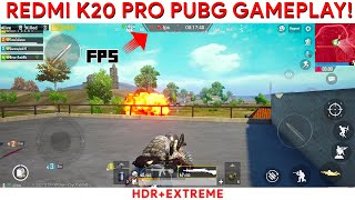 redmi K20 Pro PUBG GAMEPLAY PERFORMANCE REVIEW with FPS DATA! Not great for a flagship?