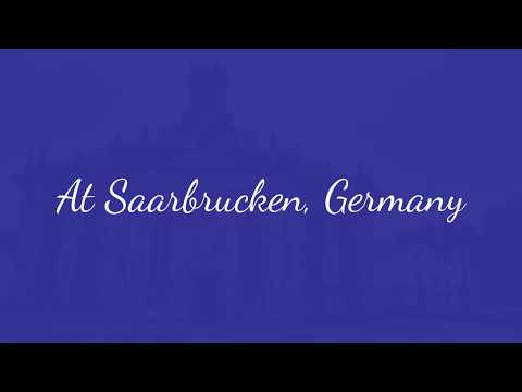 Trip to Germany: Saarbrucken