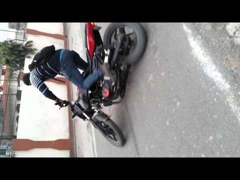 Learning Wheelie And Stoppie By Saif