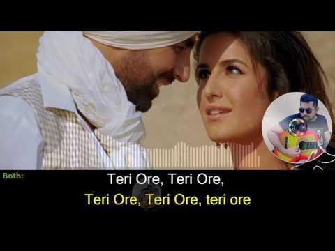 Teri Ore karaoke with synced lyrics