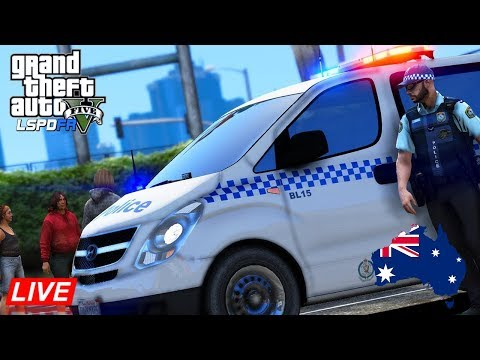GTA 5 - LSPDFR Australia LIVE - NSW Police iLoad General Duties Patrol