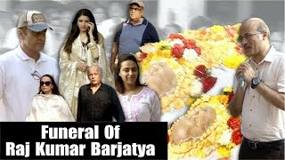 Many Celebs Attend The Funeral Of Sooraj Barjatya's Father