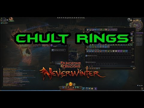 Neverwinter | SALVAGING : 66k from Chults Rings | MOD12 | PC PS4 XBOX