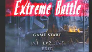 RESIDENT EVIL 2 (PS1) DUAL SHOCK VERSION -EXTREME BATTLE- CHRIS- LEVEL 3-