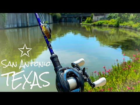 SURPRISE Catch In SAN ANTONIO Texas! FISHING The River Walk 🎣