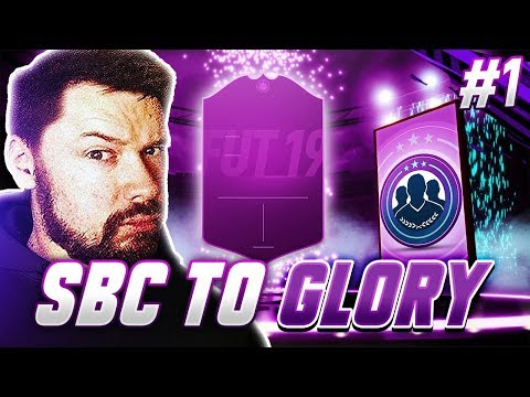 AND SO IT BEGINS! - #FIFA19 LEAGUE SBC TO GLORY! #01 Ultimate Team