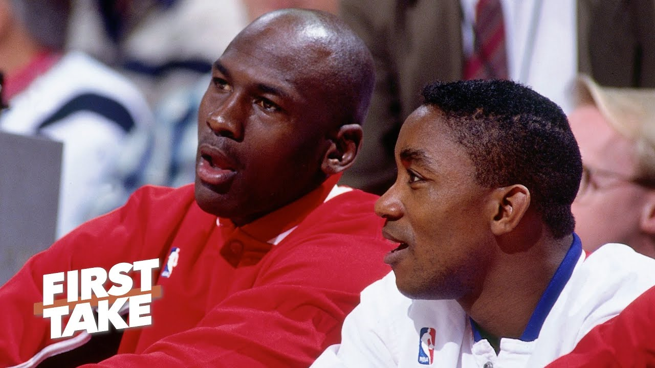 Michael Jordan's comments reveal he refused to play with Isiah Thomas on the Dream Team | First Take