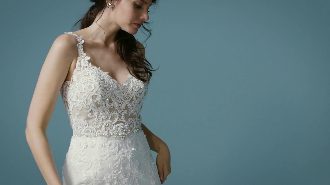 Alaina by Maggie Sottero - YouTube