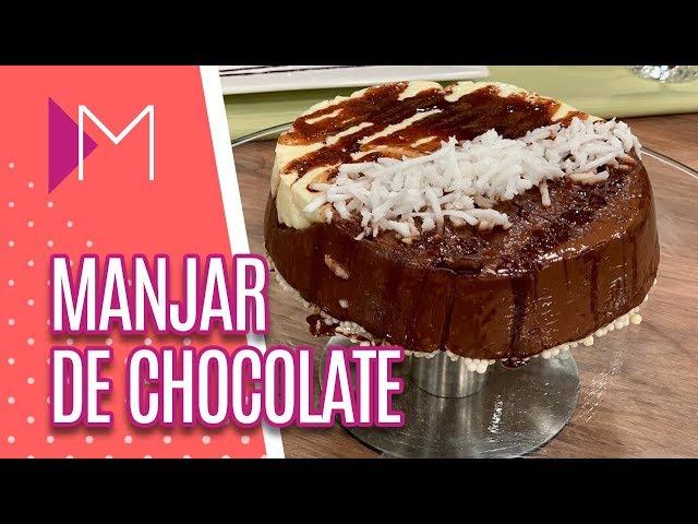 Manjar prático de chocolate - Mulheres (06/03/2019)