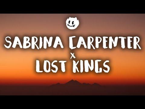 Lost Kings, Sabrina Carpenter ‒ First Love (Lyrics / Lyrics Video)