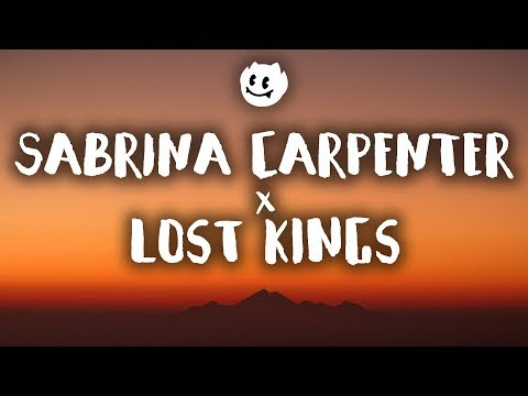 Lost Kings, Sabrina Carpenter ‒ First Love (Lyrics / Lyrics Video)