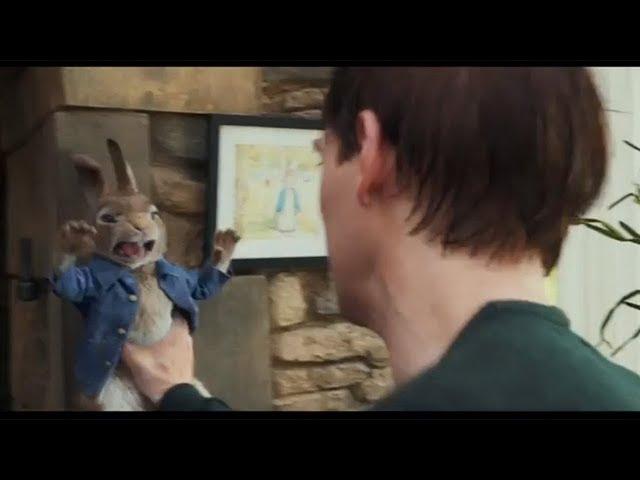 マクレガーさんと壮絶バトル!映画『ピーターラビット』予告編