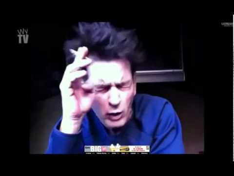 Charlie Sheen Drunk! Ripped Up Looking Rough but is Still WINNING