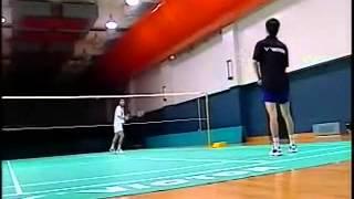 李玲蔚羽毛球2快速提高 4網前球練習