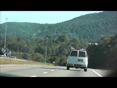 DRIVING ON INTERSTATE 77 AND  INTERSTATE 81