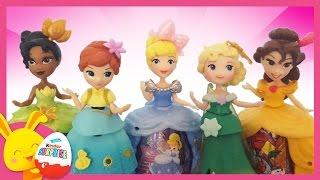 Histoire de Princesses Disney: La Belle et La Bête, Cendrillon, Reine des Neiges Touni Toys Titounis
