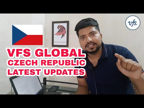 Vfs Global Latest Updates | Czech Republic Visa Centres Open In India Now | Great News