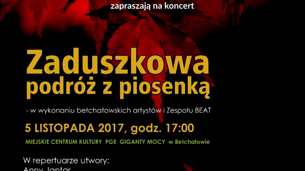 TKB – Zaduszkowa podróż z piosenką – 31.10.2017