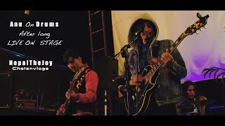 Anu On Drums After Long Time||Live On Stage Nepalthejoy @ The Bohemian Rooftop