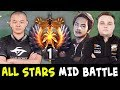 TOP-1 Rank MidOne vs InYourDream + Noone — ALL STARS miders in one game